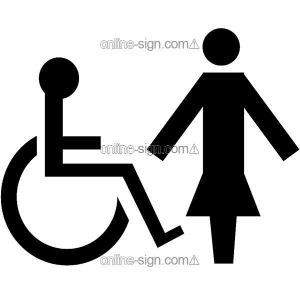 Accessible toilet. Sign DataBase  Comprehensive guide to signs  signage  labels and